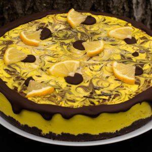 Lemon Choco Cake