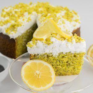 Lemon Poppy Cake